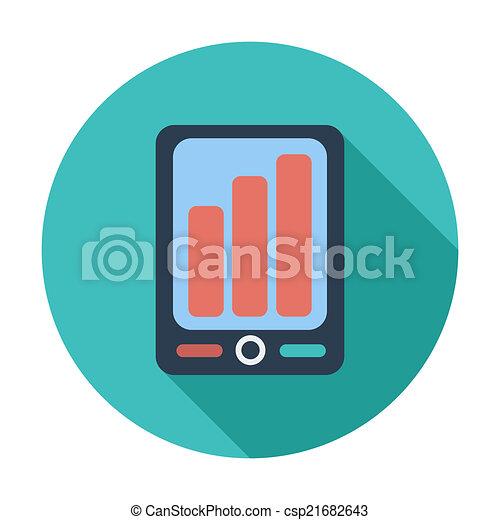 Smartphone icon. - csp21682643
