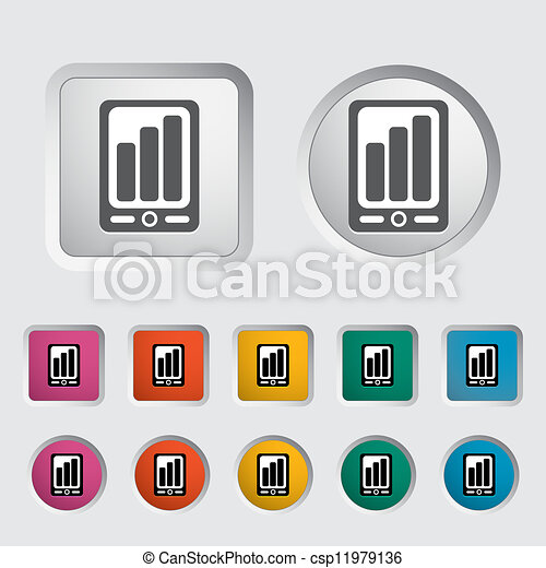 Smartphone icon. - csp11979136