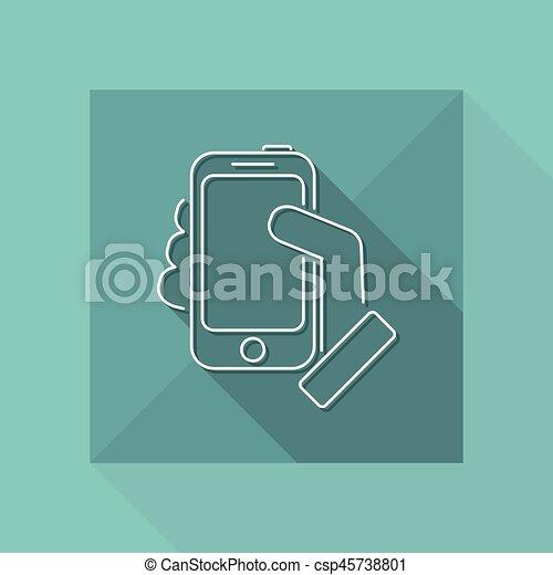 Smartphone icon - csp45738801