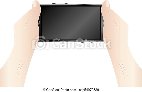 Smartphone in Hands - csp54970839