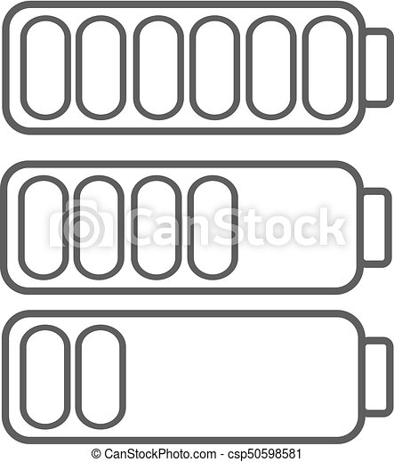 Smartphone Or Cell Phone Low Battery Icon Low Energy Symbol Flat