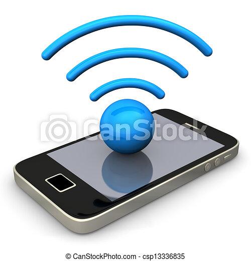 Smartphone Radio - csp13336835