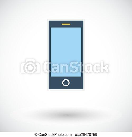 Smartphone single icon. - csp26470759