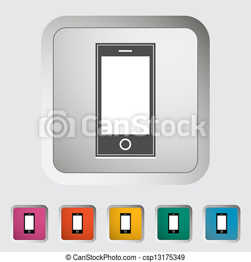 Smartphone single icon. - csp13175349