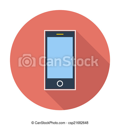 Smartphone single icon. - csp21682648