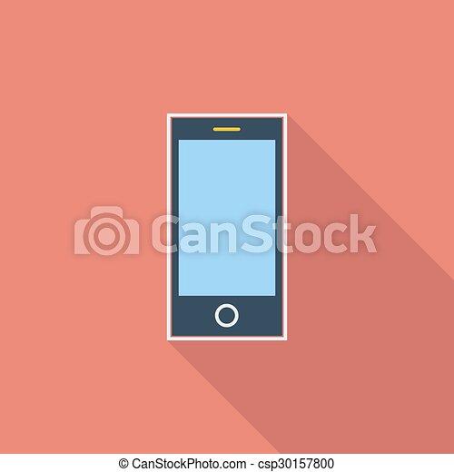 Smartphone single icon. - csp30157800