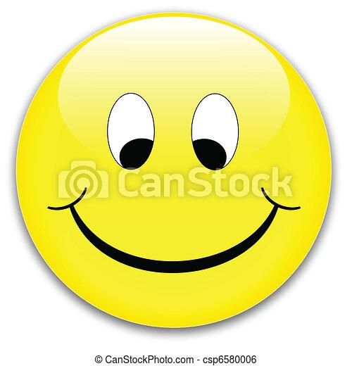 Smile button - csp6580006
