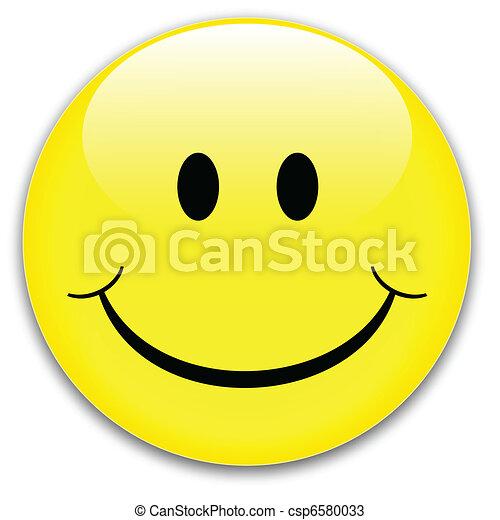 Smile button - csp6580033