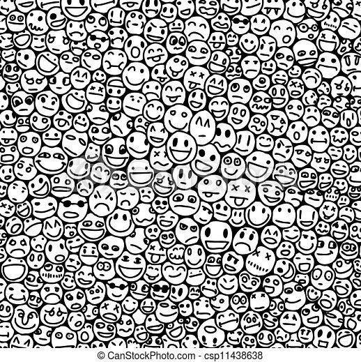 Smile texture - csp11438638