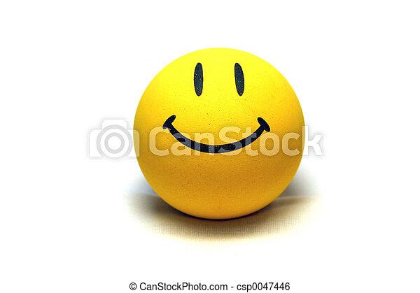 smiley αντικρύζω  - csp0047446