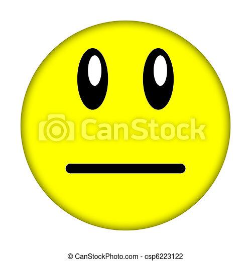 smiley enfrentam - csp6223122