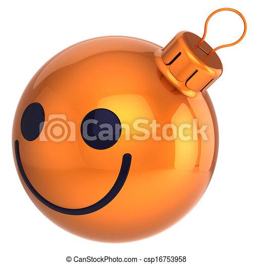 smiley face christmas ball csp16753958 - Christmas Smiley Faces