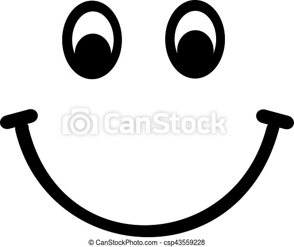 smiley face rh canstockphoto com smiley vector png smile vector free