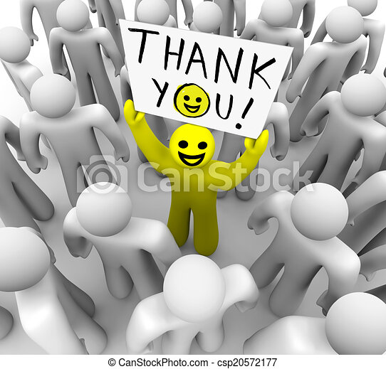 Danke smiley thankful