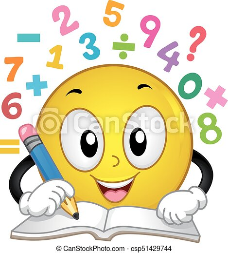 smiley  l u00f6sen  zahl  abbildung  mathe seine  antworten Homework Folder Clip Art School Clip Art
