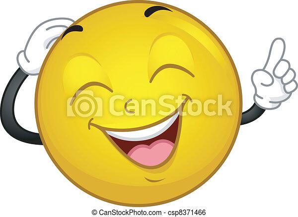 Sonriente sonriente - csp8371466