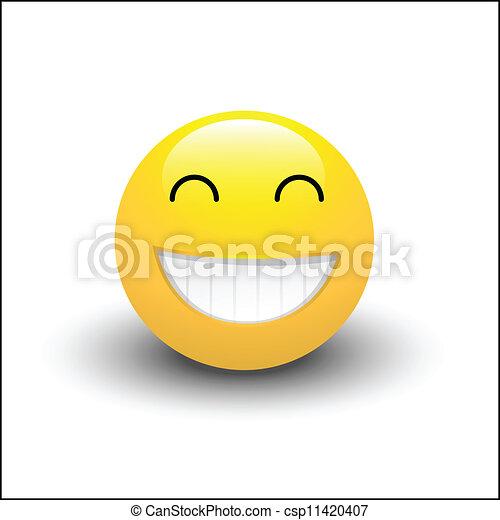 Sonriente sonriente - csp11420407