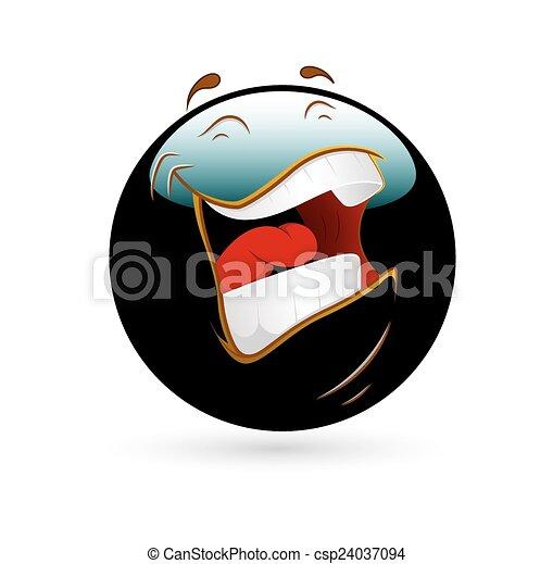 Sonriente sonriente - csp24037094