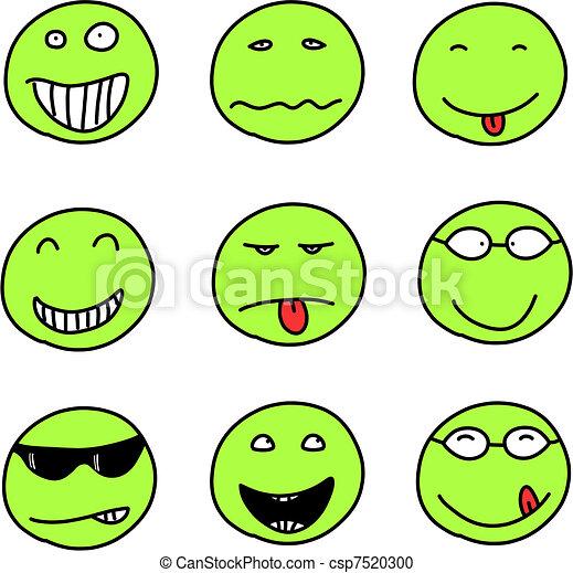 Smiley set - csp7520300