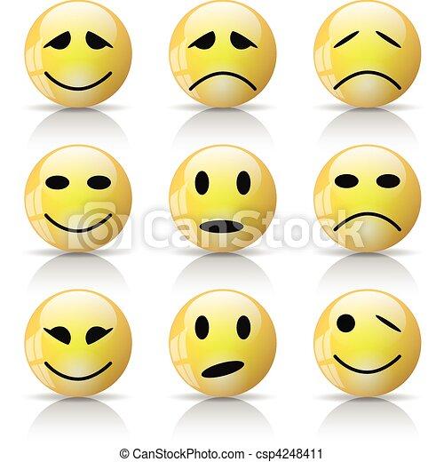 Smiley - csp4248411