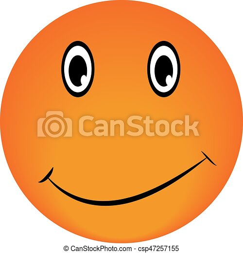 smiley vector happy face emotion icon approval clipart vector rh canstockphoto com happy face vector image happy face emoji vector