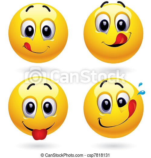 smileys - csp7818131
