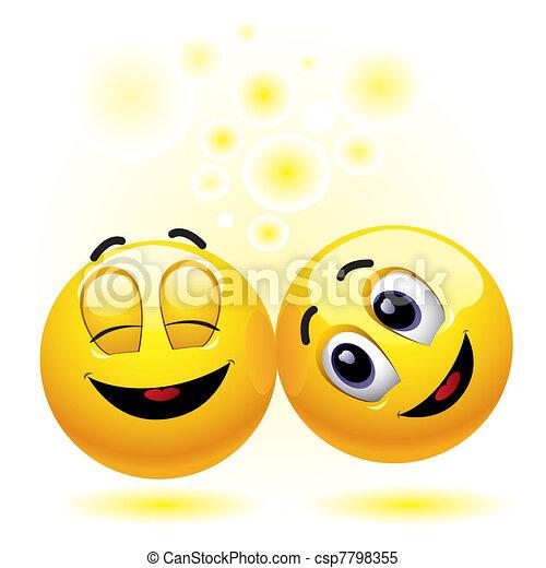 Smileys - csp7798355