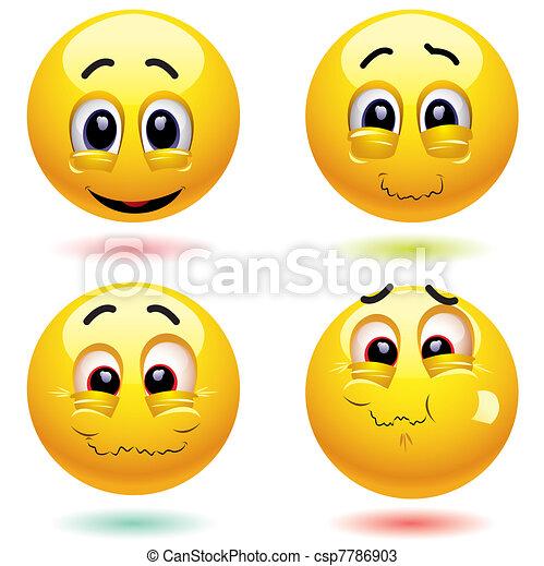 Smileys - csp7786903