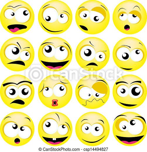smileys - csp14494827