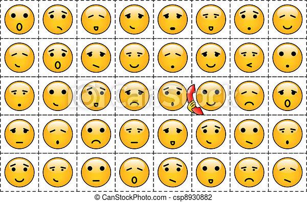 Smileys - csp8930882