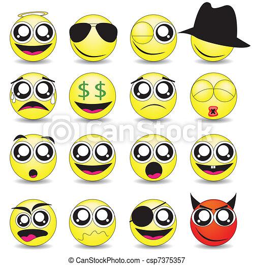 smileys - csp7375357