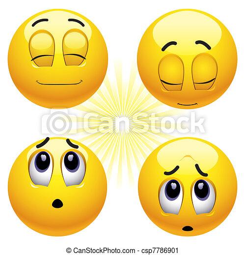 Smileys - csp7786901