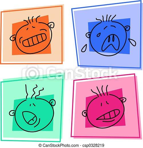 smilie icons - csp0328219