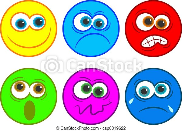 emotions stock illustrations 227 207 emotions clip art images and rh canstockphoto com why faces clip art emotions clip art emotions faces