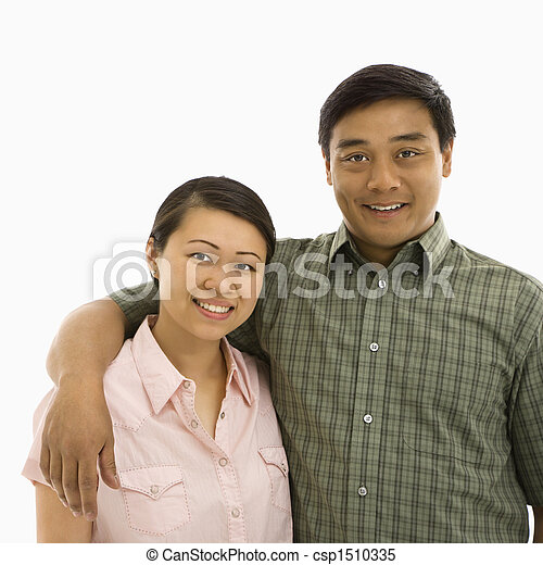 couple adult Asian