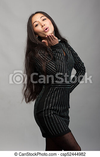 Smiling asian woman - csp52444982