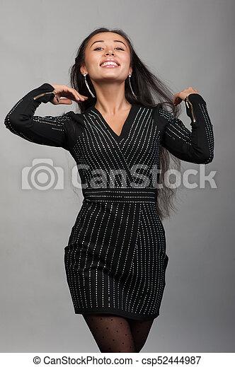 Smiling asian woman - csp52444987