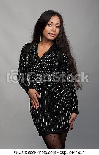 Smiling asian woman - csp52444954