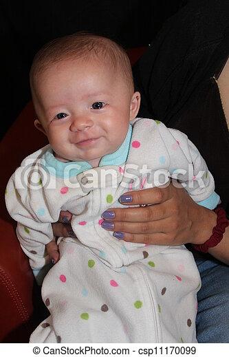 Smiling Baby Girl - csp11170099