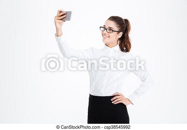 cell Homemade phone girl white