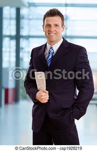 Smiling businessman - csp1928219