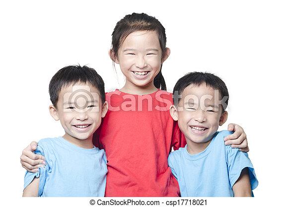 Smiling children - csp17718021