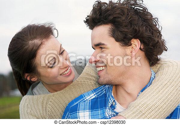 Smiling Couple - csp12398030