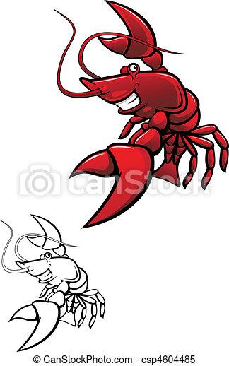 Smiling crayfish - csp4604485