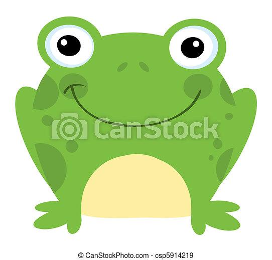 Smiling Frog - csp5914219