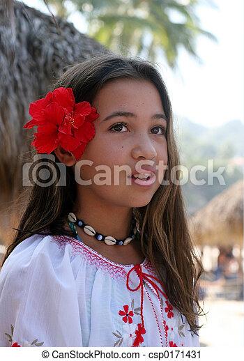 Smiling girl - csp0171431