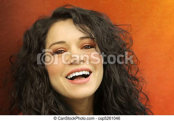 Smiling Girl - csp5261046