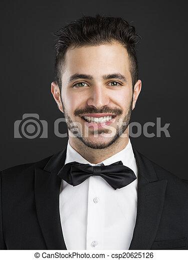 Smiling guy - csp20625126