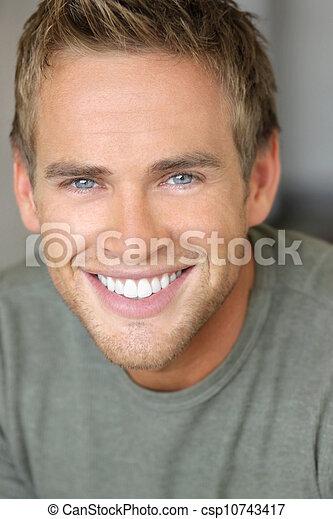 Smiling man - csp10743417