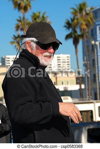 Smiling Man Portrait - csp0583368